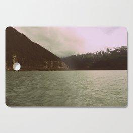 Cloudy Mountain   Photography Cutting Board
