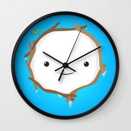 Snow Golem Wall Clock