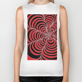 Tunnels Red and Black Biker Tank
