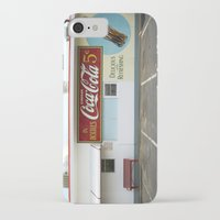 coca cola iPhone & iPod Cases featuring Coca Cola by Jon Cain