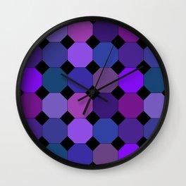 PolkaHex 2 Wall Clock