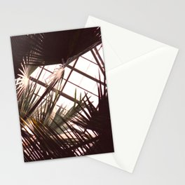 palms in the conservatory, 2014 Stationery Cards