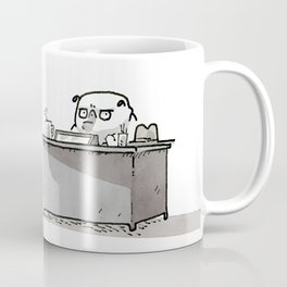 Ketch Fetchum, Pug Private Eye Coffee Mug