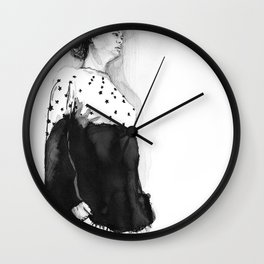 Fashion Illustration – Hana Cha S/S 2013 Wall Clock