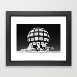 信号 - SIGNAL Framed Art Print