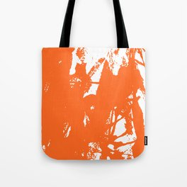 Orange Ink Tote Bag