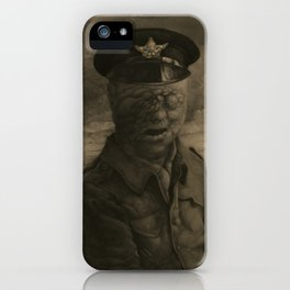 El soldado sin rostro iPhone Case