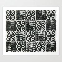 adinkra  Art Print