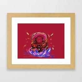 Happy Buddha Framed Art Print