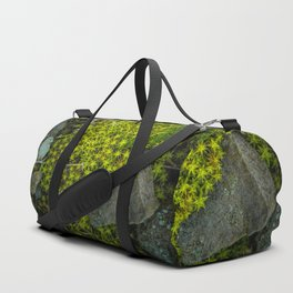 The tiny green forest Duffle Bag