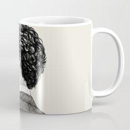 Sherlocked - Sherlock Holmes Benedict Cumberbatch Crosshatch Etching Coffee Mug