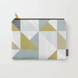 Modern Geometric 13 Carry-All Pouch