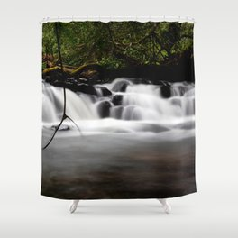 Mondulkiri Little Side Waterfall Shower Curtain