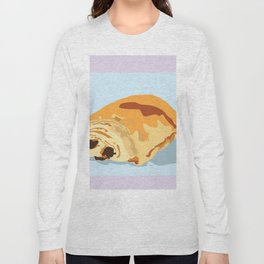 Chocolate Croissant Long Sleeve T-shirt