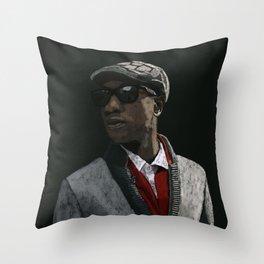 Aloe Blacc Throw Pillow