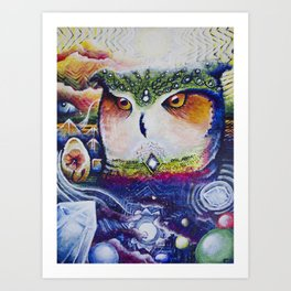 Prophecy Art Print