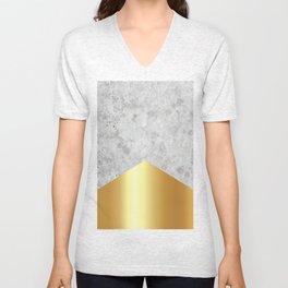 Concrete Arrow Gold #372 Unisex V-Neck