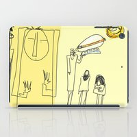 led zeppelin iPad Cases featuring having a zeppelin by bıtbıt