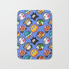 Super Mario World   Enemies Pattern Bath Mat