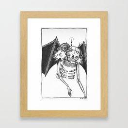 CLWN Framed Art Print