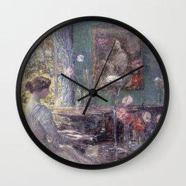 Childe Hassam - Improvisation Wall Clock
