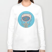 rock and roll Long Sleeve T-shirts featuring Rock & Roll by Molly Yllom Shop