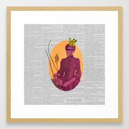 Orgasmo (Orgasm) Framed Art Print
