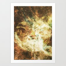 Midnight Juggernauts Poster Illustration Art Print
