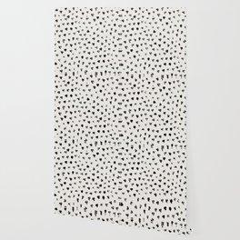 Polka Splotch Wallpaper