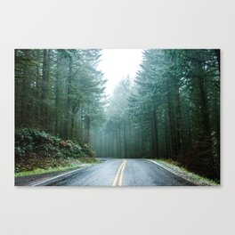 Forest Road Trip Canvas Print