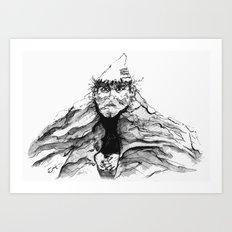 Mtn. Man Art Print
