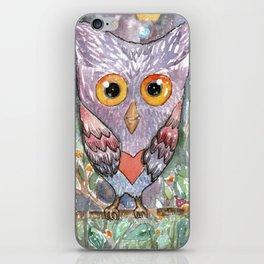 Colorfull Owl iPhone Skin