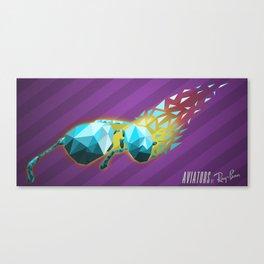 Poly Aviators Canvas Print