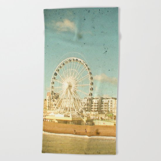 Brighton Wheel Beach Towel
