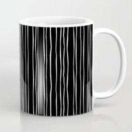 Wide Black Stripe Coffee Mug