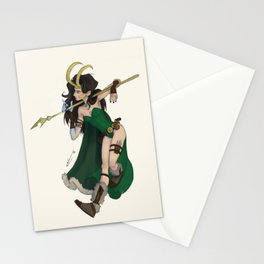 Lady Loki Stationery Cards