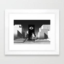 旅行者 | Traveler Framed Art Print