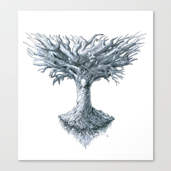 The Tree of Many Things Canvas Print