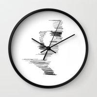 robert farkas Wall Clocks featuring Robert by XeniaBakanyozo