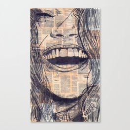 Laughing Girl 15# Canvas Print