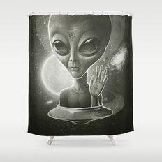 Alien II Shower Curtain