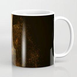 Eye from orange glowing particles Coffee Mug