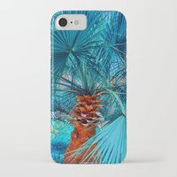 palm tree iPhone & iPod Cases featuring Palm Tree by DistinctyDesign
