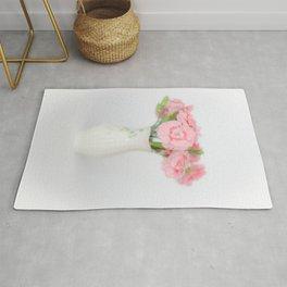 Pink Carnations 1 Rug