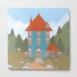 Valle Moomin 2019 - Landscape Metal Print