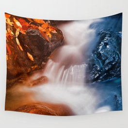 Stream of Fire & Ice Wall Tapestry