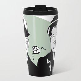Laurel and Hardy Travel Mug