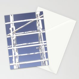 Wooden roller coaster Stationery Cards