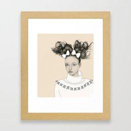 Self-Proclaimed Royalty I Framed Art Print