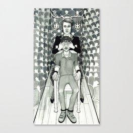 Amaurosis (Hannibal Lecter & Will Graham) Canvas Print